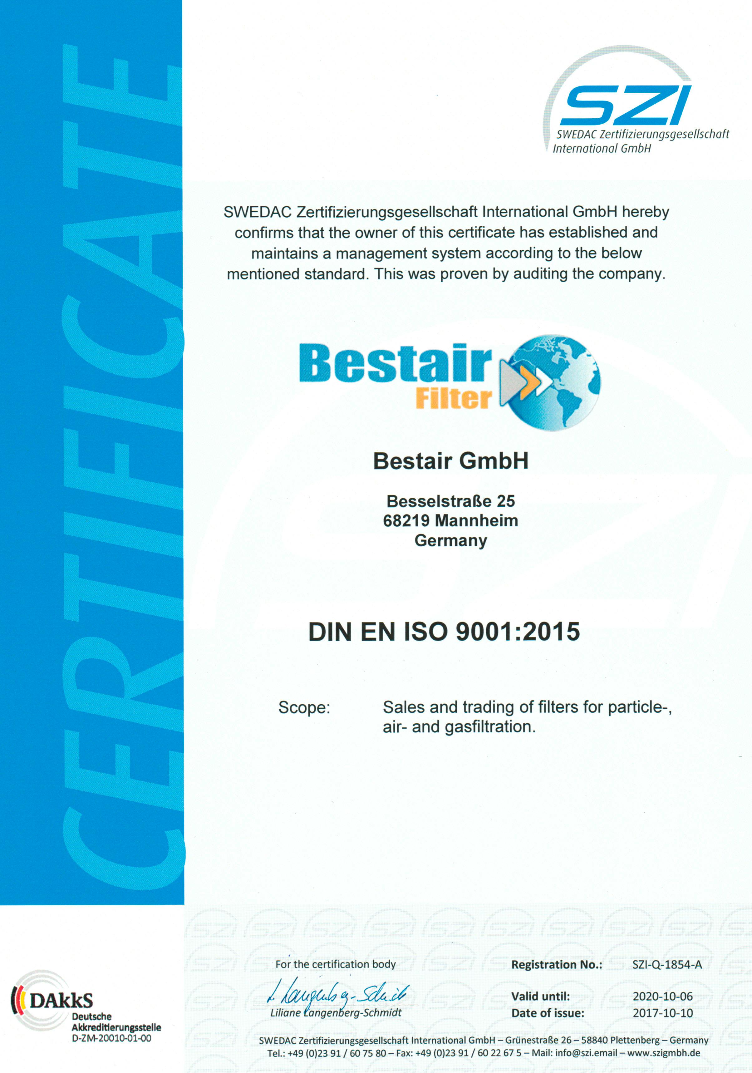 SZI-Q-1854-A-Zertifikat-Bestair-GmbH-e